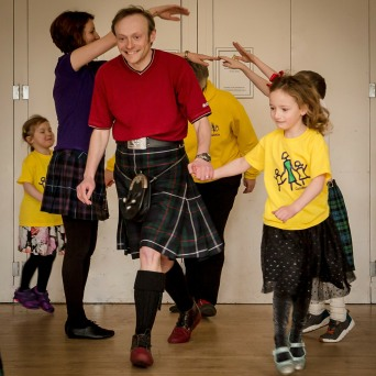 CeilidhKids at the Fringe - Free!