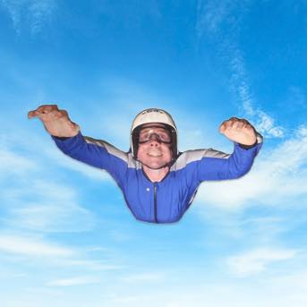 Skydive to Stand-up