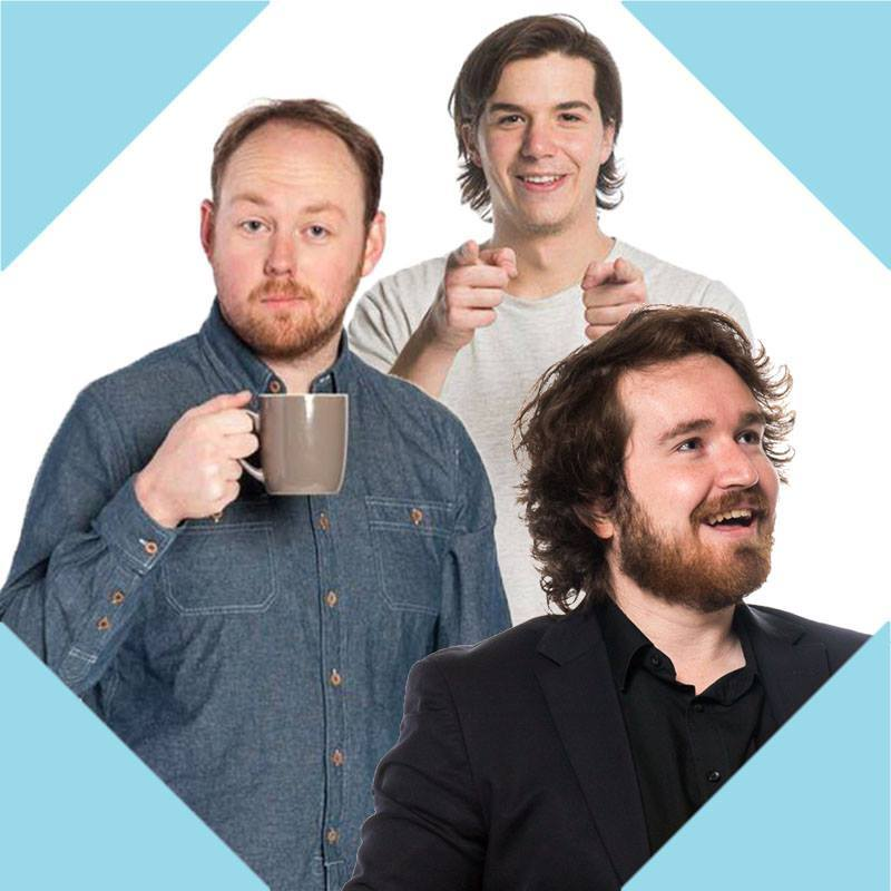 3's Comedy - Adam Knox, Luka Muller & Peter Jones