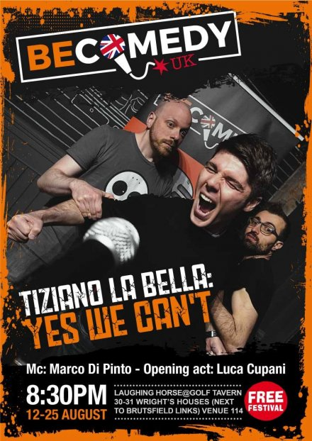 Tiziano La Bella: Yes We Can't